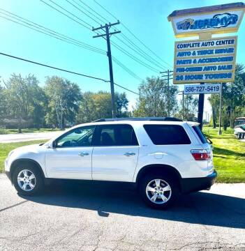 2012 GMC Acadia for sale at JEREMYS AUTOMOTIVE in Casco MI