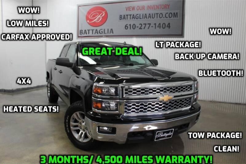 2014 Chevrolet Silverado 1500 for sale at Battaglia Auto Sales in Plymouth Meeting PA