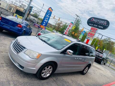 2008 Chrysler Town and Country for sale at i3Motors in Baltimore MD