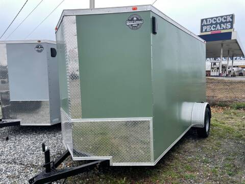 2021 6x12 Single Axle Enclosed Cargo Trailer for sale at Direct Connect Cargo in Tifton GA