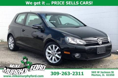 2011 Volkswagen Golf for sale at Mike Murphy Ford in Morton IL