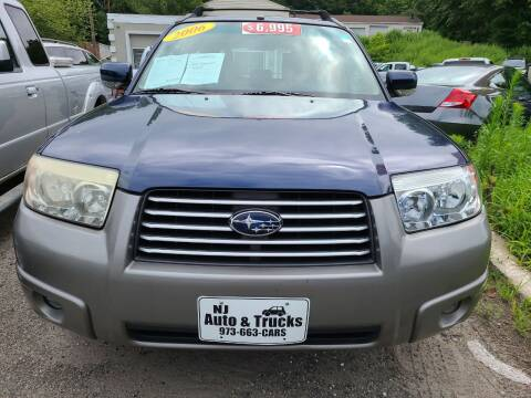 2006 Subaru Forester for sale at New Jersey Automobiles and Trucks in Lake Hopatcong NJ