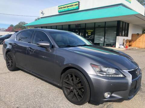 2013 Lexus GS 350 for sale at Action Auto Specialist in Norfolk VA