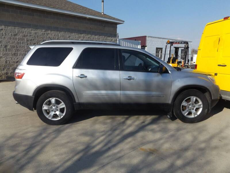 2008 GMC Acadia for sale at Relaxation Automobile Station in Moorhead MN