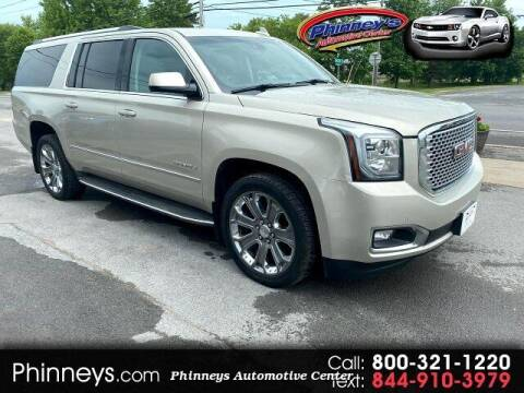 2015 GMC Yukon XL for sale at Phinney's Automotive Center in Clayton NY