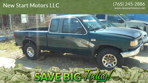 1997 Mazda B-Series Pickup for sale at New Start Motors LLC in Montezuma IN