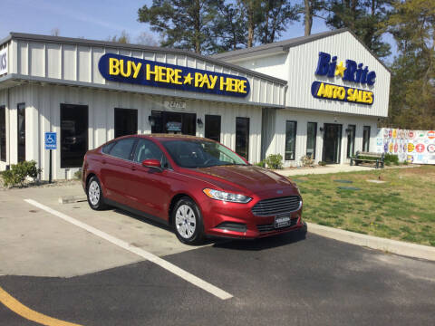 2013 Ford Fusion for sale at Bi Rite Auto Sales in Seaford DE