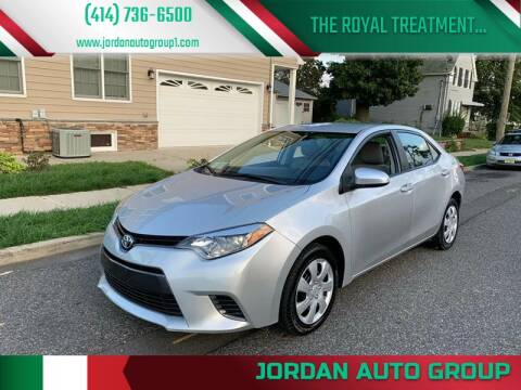 2016 Toyota Corolla for sale at Jordan Auto Group in Paterson NJ