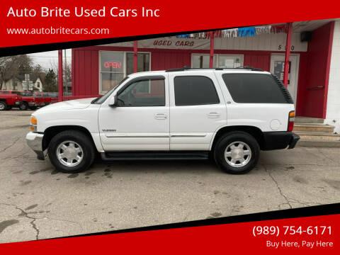 2005 GMC Yukon for sale at Auto Brite Used Cars Inc in Saginaw MI
