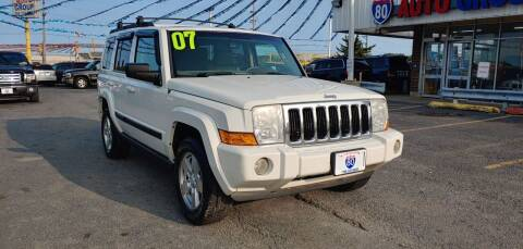 2007 Jeep Commander for sale at I-80 Auto Sales in Hazel Crest IL