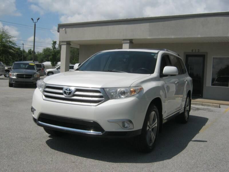 2012 Toyota Highlander for sale at Premier Motor Co in Springdale AR