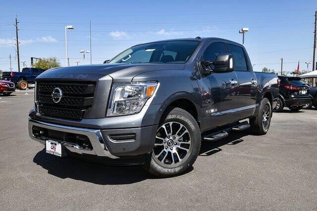 2021 Nissan Titan for sale in Las Vegas, NV