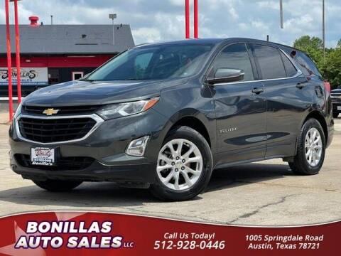 2018 Chevrolet Equinox for sale at Bonillas Auto Sales in Austin TX