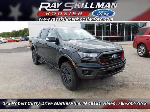 2021 Ford Ranger for sale at Ray Skillman Hoosier Ford in Martinsville IN