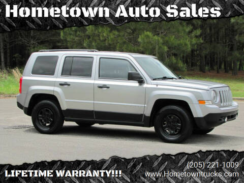 2016 Jeep Patriot for sale at Hometown Auto Sales - SUVS in Jasper AL