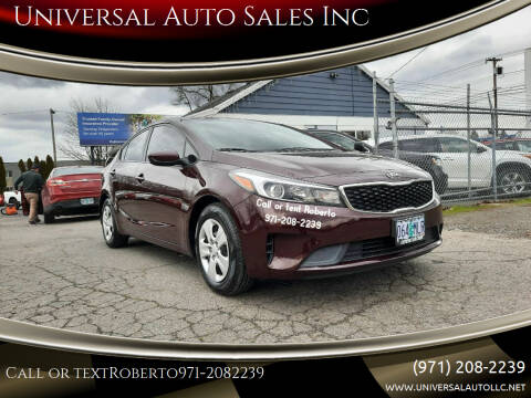 2018 Kia Forte for sale at Universal Auto Sales Inc in Salem OR
