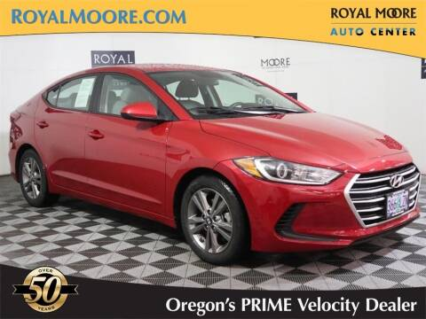 2018 Hyundai Elantra for sale at Royal Moore Custom Finance in Hillsboro OR
