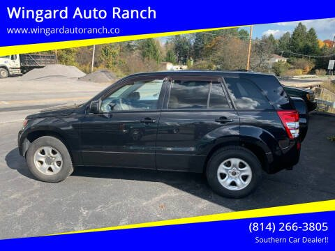 2012 Suzuki Grand Vitara for sale at Wingard Auto Ranch in Elton PA