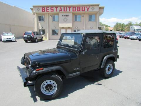 1991 Jeep Wrangler for sale at Best Auto Buy in Las Vegas NV