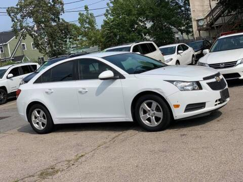 2014 Chevrolet Cruze for sale at Tonny's Auto Sales Inc. in Brockton MA