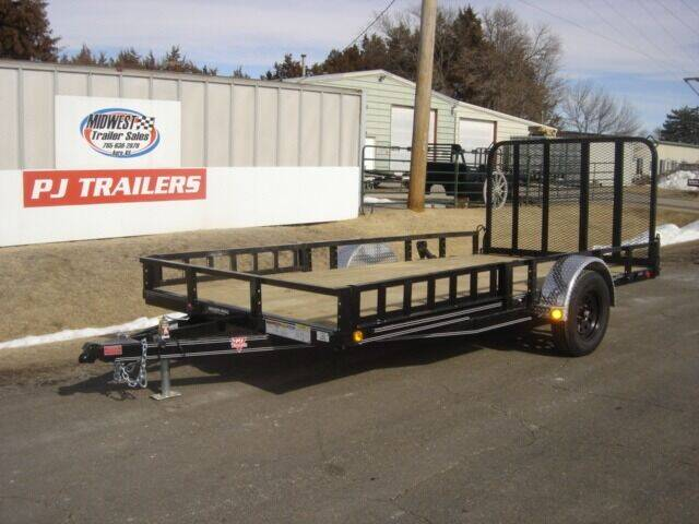 2021 83 X 1 4 PJ U8 for sale at Midwest Trailer Sales & Service in Agra KS