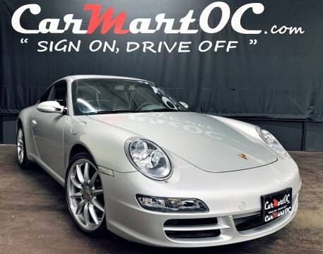 2007 Porsche 911 for sale at CarMart OC in Costa Mesa, Orange County CA