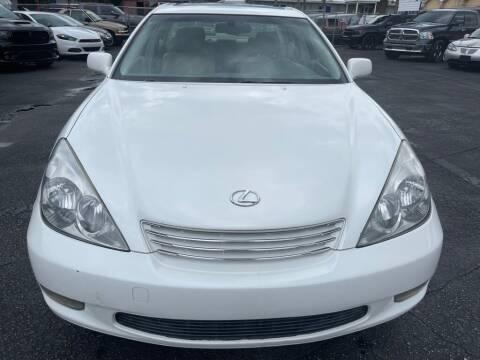 2002 Lexus ES 300 for sale at WHEEL UNIK AUTOMOTIVE & ACCESSORIES INC in Orlando FL