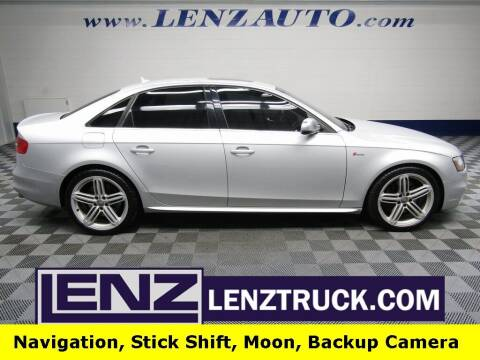 2013 Audi S4 for sale at LENZ TRUCK CENTER in Fond Du Lac WI