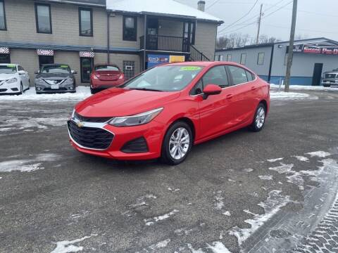 2019 Chevrolet Cruze for sale at Sisson Pre-Owned in Uniontown PA
