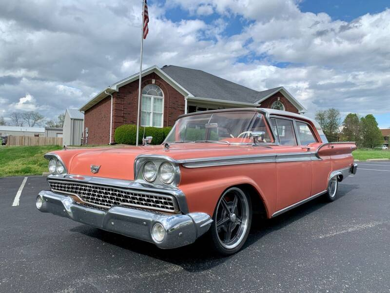 1959 Ford Galaxie 500 for sale at HillView Motors in Shepherdsville KY