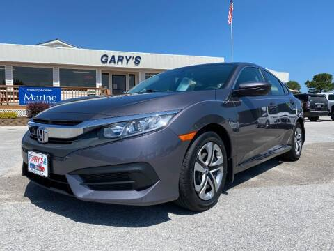 2018 Honda Civic for sale at Gary's Auto Sales in Sneads NC