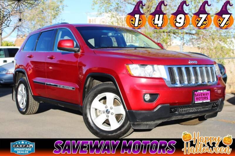 2013 Jeep Grand Cherokee for sale at Saveway Motors in Reno NV