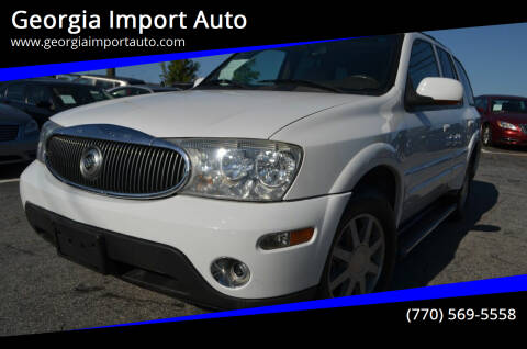 2005 Buick Rainier for sale at Georgia Import Auto in Alpharetta GA