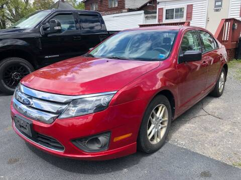 2012 Ford Fusion for sale at JB Auto Sales in Schenectady NY