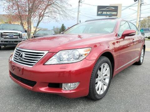 2010 Lexus LS 460 for sale at RT28 Motors in North Reading MA
