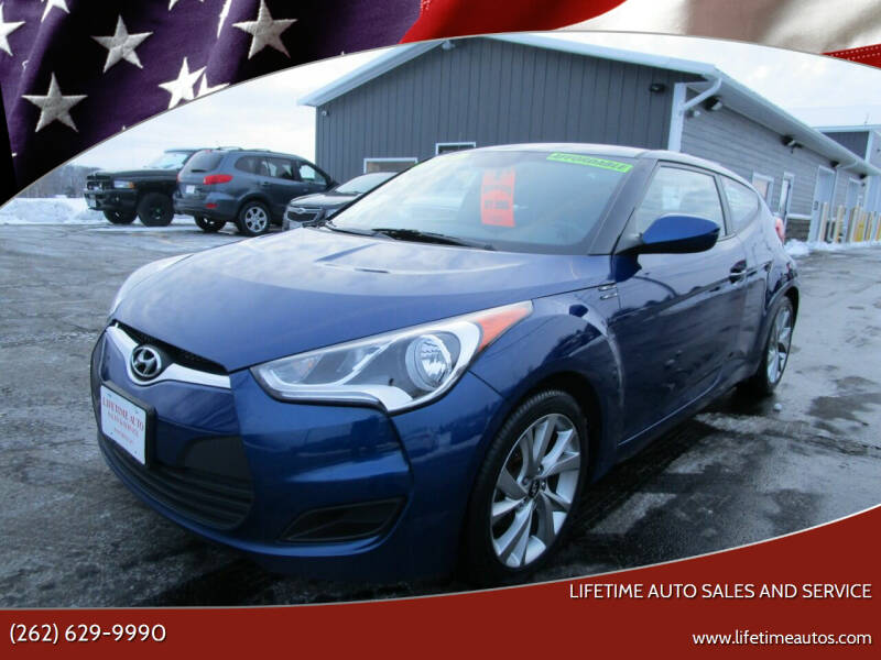 2016 Hyundai Veloster for sale at Lifetime Auto Sales and Service in West Bend WI