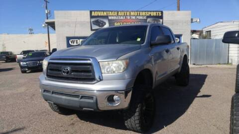 2011 Toyota Tundra for sale at Advantage Motorsports Plus in Phoenix AZ