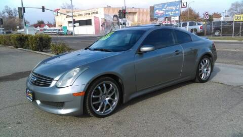 2007 Infiniti G35 for sale at Larry's Auto Sales Inc. in Fresno CA