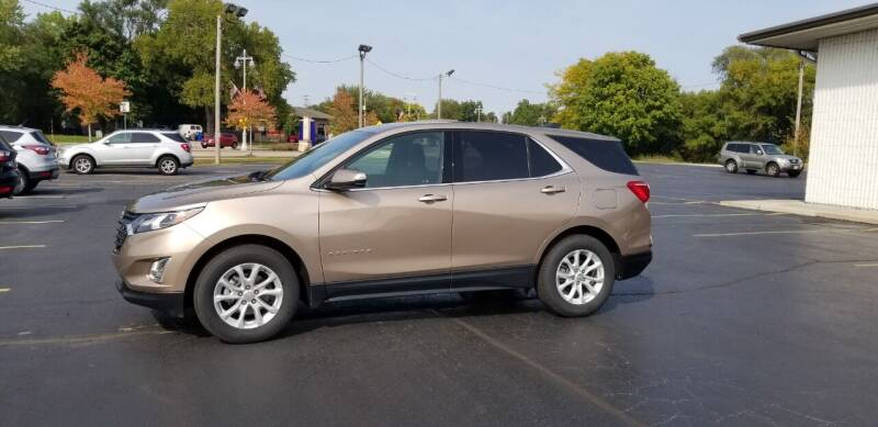 2018 Chevrolet Equinox for sale at SINDIC MOTORCARS INC in Muskego WI