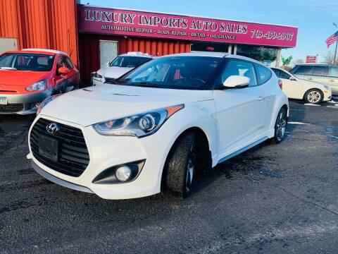 2014 Hyundai Veloster for sale at LUXURY IMPORTS AUTO SALES INC in North Branch MN