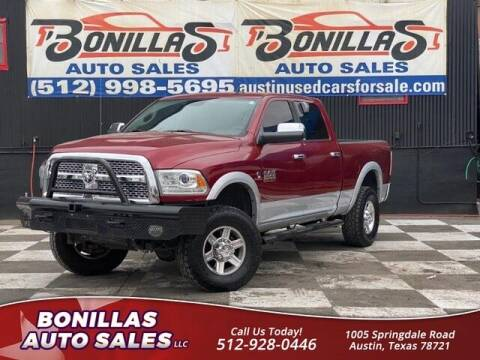 2013 RAM Ram Pickup 2500 for sale at Bonillas Auto Sales in Austin TX