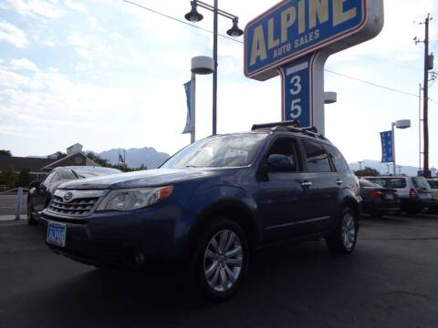 2011 Subaru Forester for sale at Alpine Auto Sales in Salt Lake City UT