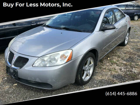 2008 Pontiac G6 for sale at Buy For Less Motors, Inc. in Columbus OH