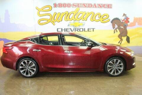 2016 Nissan Maxima for sale at Sundance Chevrolet in Grand Ledge MI