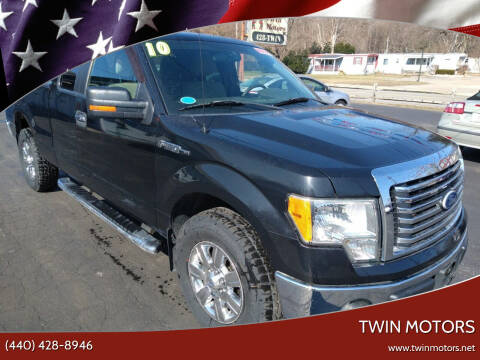 2010 Ford F-150 for sale at TWIN MOTORS in Madison OH