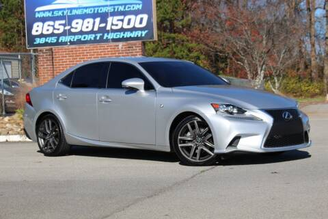 2014 Lexus IS 250 for sale at Skyline Motors in Louisville TN