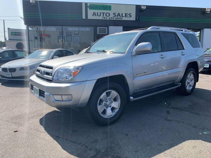 2004 Toyota 4Runner for sale at Wakefield Auto Sales of Main Street Inc. in Wakefield MA