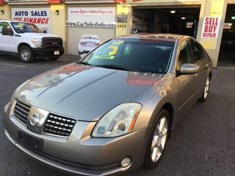 2006 Nissan Maxima for sale at Xpress Auto Sales & Service in Atlantic City NJ