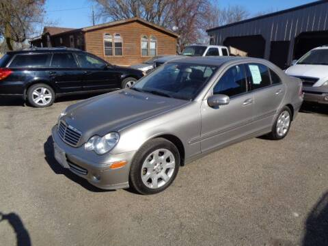 2006 Mercedes-Benz C-Class for sale at COUNTRYSIDE AUTO INC in Austin MN
