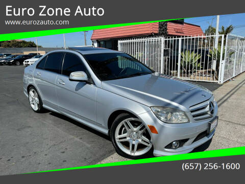 2009 Mercedes-Benz C-Class for sale at Euro Zone Auto in Stanton CA